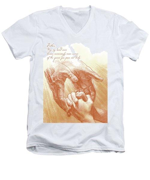 Prayer Men's V-Neck T-Shirt