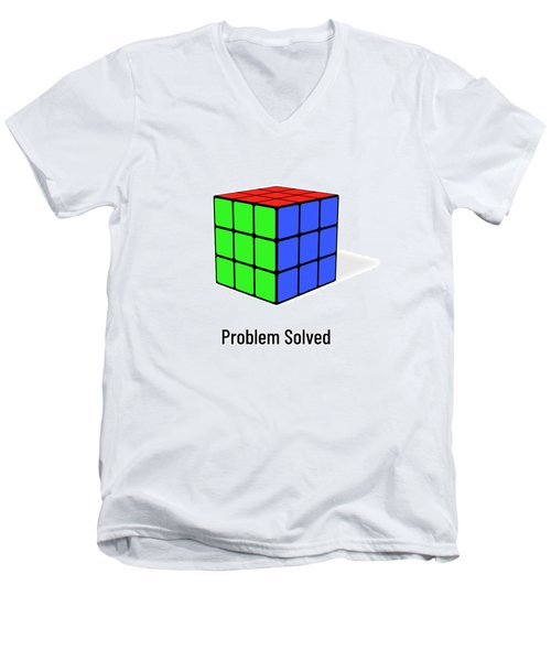 Problem Solved Men's V-Neck T-Shirt