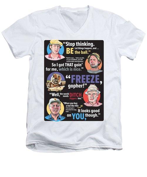 Quotable Caddyshack Men's V-Neck T-Shirt