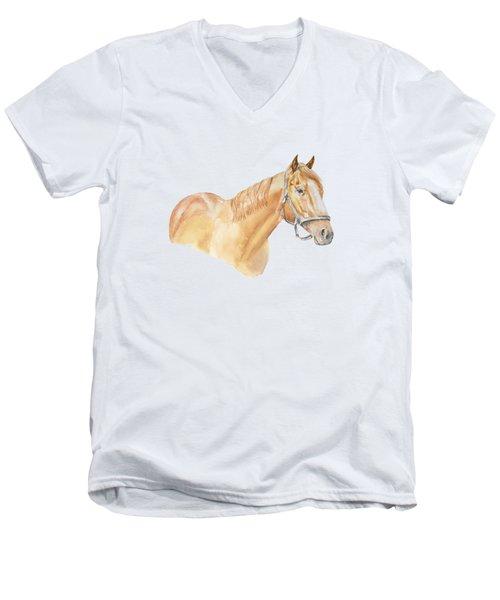 Racehorse Men's V-Neck T-Shirt