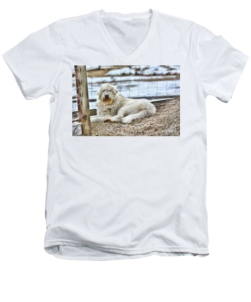 Ranch Hand Men's V-Neck T-Shirt
