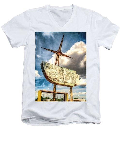 Ranch House Cafe Men's V-Neck T-Shirt