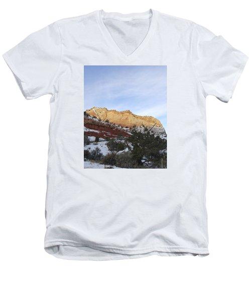 Rocky Slope Men's V-Neck T-Shirt