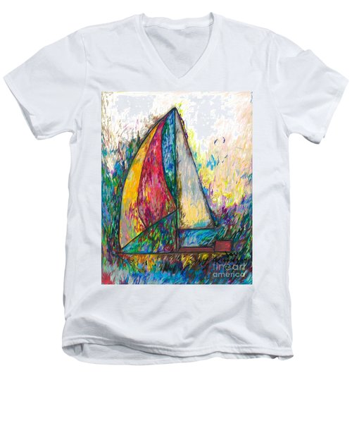 Rough Sailing Men's V-Neck T-Shirt