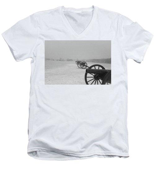 Row Of Cannon Men's V-Neck T-Shirt