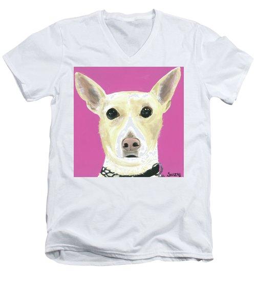 Sandy's Lulu Men's V-Neck T-Shirt
