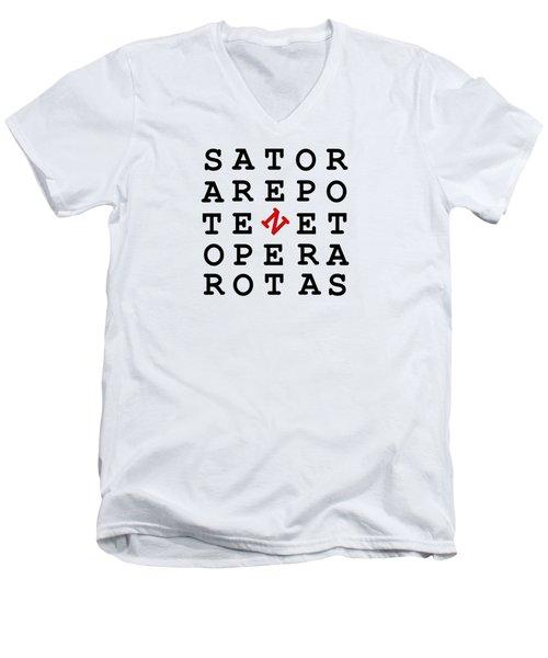 Sator Square Men's V-Neck T-Shirt