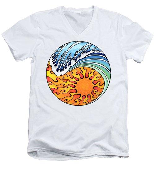 Seeking Balance Men's V-Neck T-Shirt