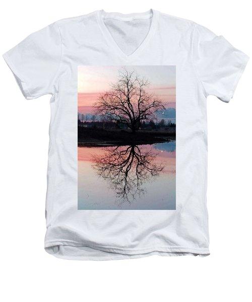 Serenity At Sunset Men's V-Neck T-Shirt