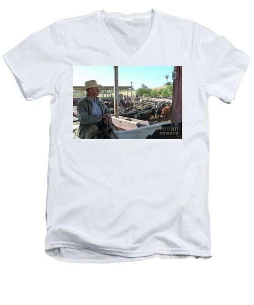 Skip Men's V-Neck T-Shirt