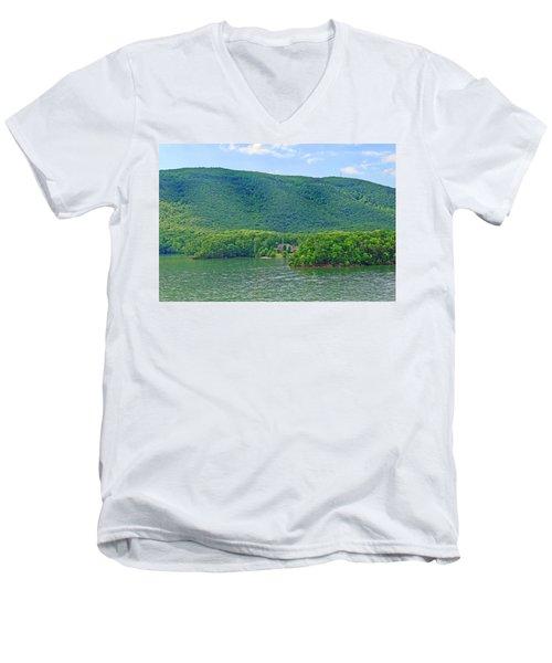 Smith Mountain Lake, Va. Men's V-Neck T-Shirt