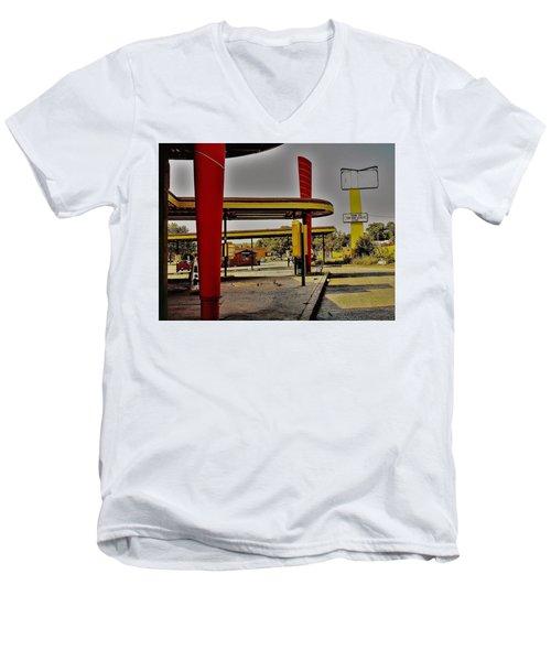 Sonic  Men's V-Neck T-Shirt
