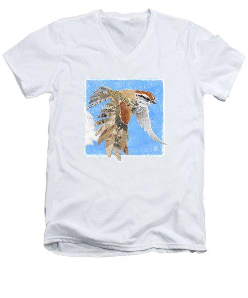 Sparrow Men's V-Neck T-Shirt