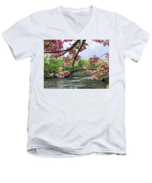 Spring Time In Windham  Men's V-Neck T-Shirt