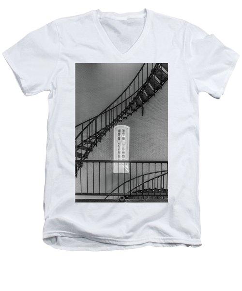 St Augustine Lighthouse Men's V-Neck T-Shirt
