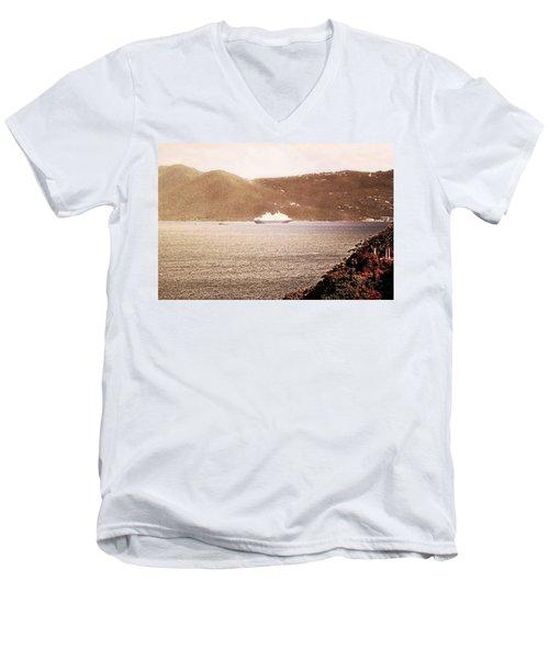 St. John Anchorage Men's V-Neck T-Shirt