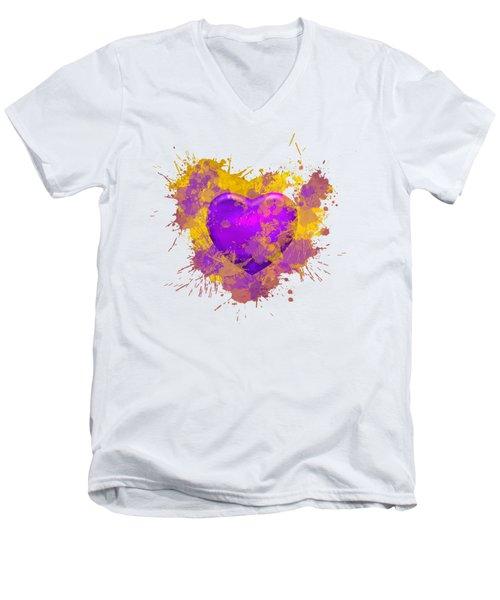 Stain Lakers Men's V-Neck T-Shirt