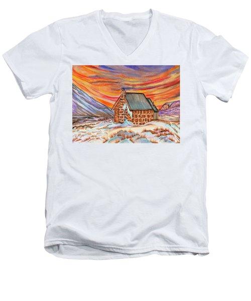 Stone Refuge Men's V-Neck T-Shirt