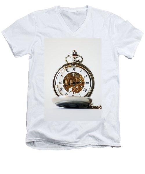 Studio. Pocketwatch. Men's V-Neck T-Shirt