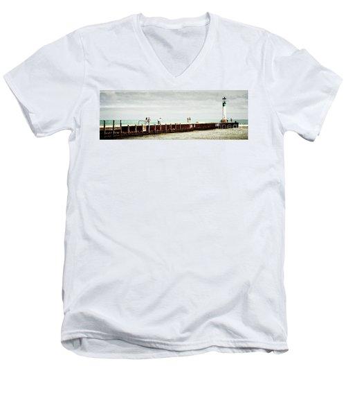 Sunny Afternoon Men's V-Neck T-Shirt