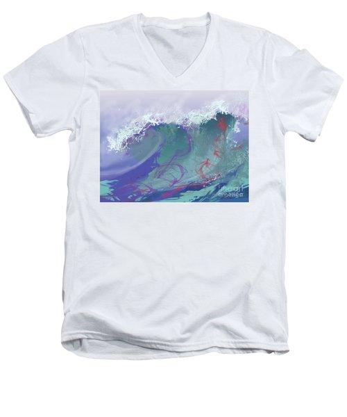 Surf's Up Men's V-Neck T-Shirt