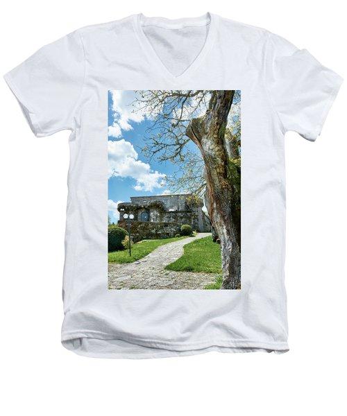 The Castle Of Villamarin Men's V-Neck T-Shirt