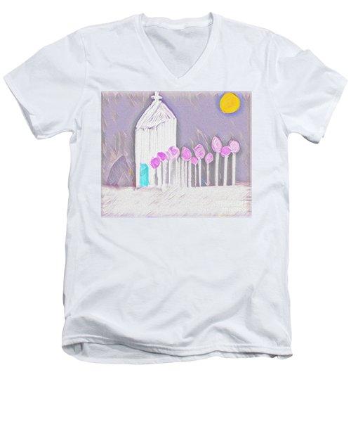 The Chapel Men's V-Neck T-Shirt