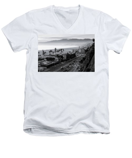 The Evening Drive Home Men's V-Neck T-Shirt