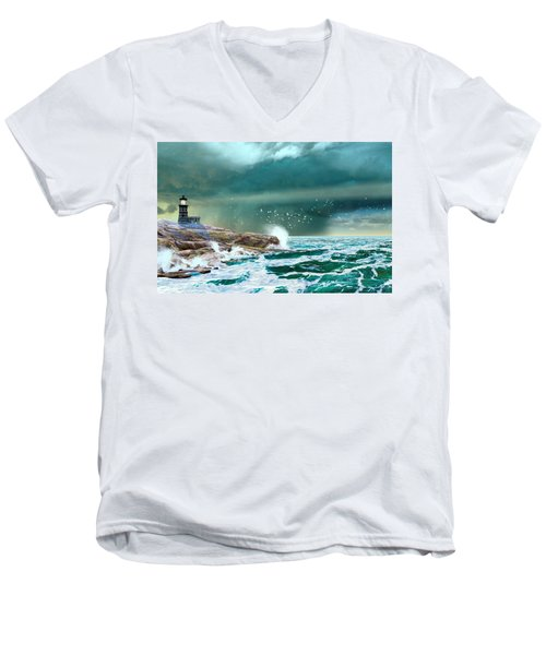 The Eye Of Neptune Men's V-Neck T-Shirt