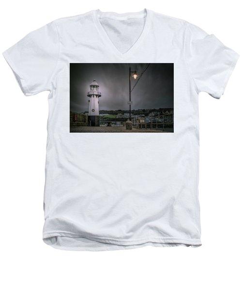 The Light Men's V-Neck T-Shirt