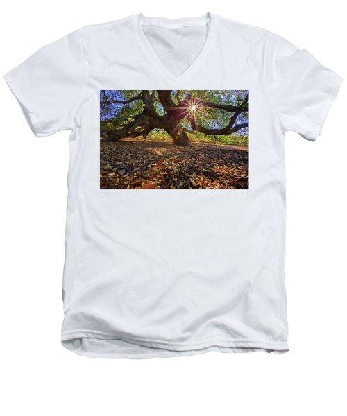 The Old Oak Men's V-Neck T-Shirt