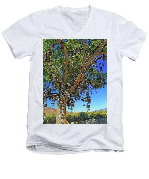 The Shoe Tree Men's V-Neck T-Shirt