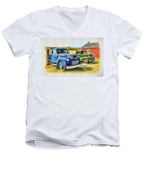 The Strong Silent Types Men's V-Neck T-Shirt