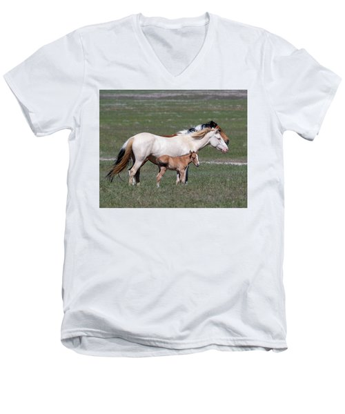 Three Generations Men's V-Neck T-Shirt