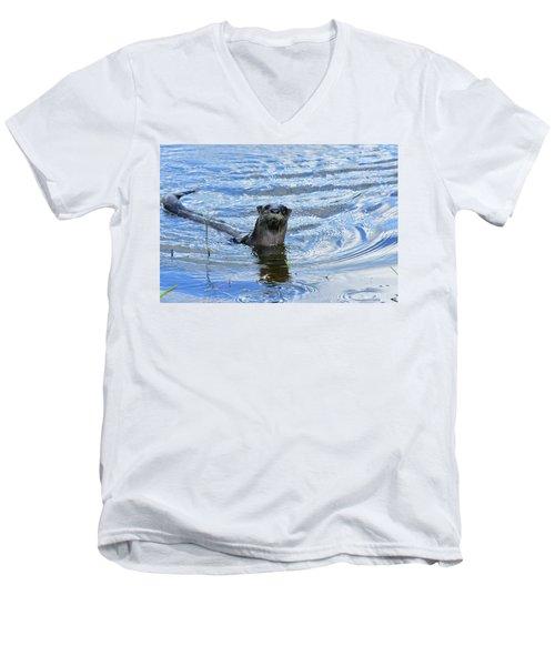 To My Otter Amazement Men's V-Neck T-Shirt