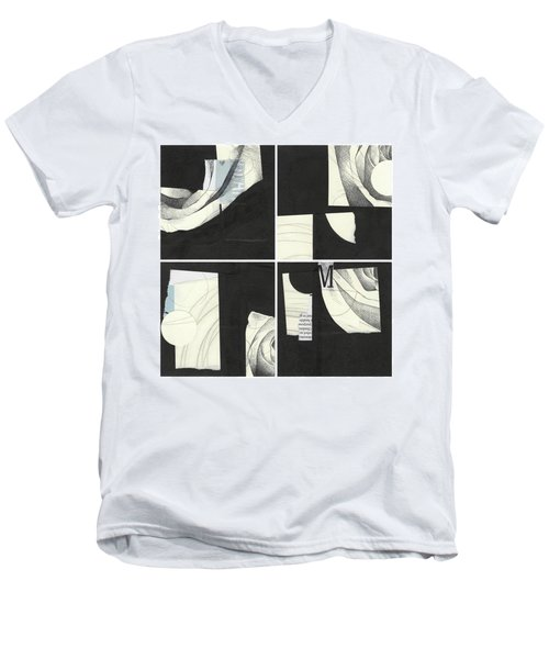 Torn Beauty No. 4 Men's V-Neck T-Shirt