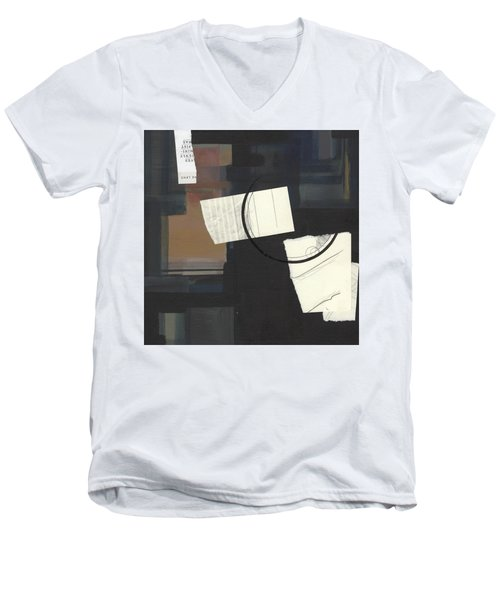 Torn Beauty No. 6 Men's V-Neck T-Shirt