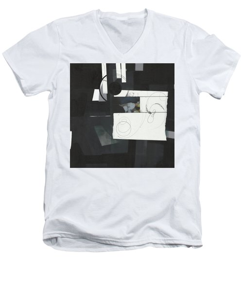 Torn Beauty No. 7 Men's V-Neck T-Shirt