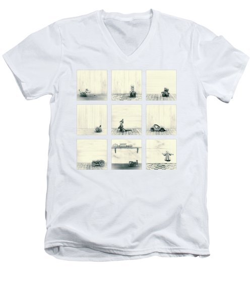 Toy Collection Men's V-Neck T-Shirt