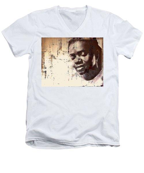 Tracy Chapman Men's V-Neck T-Shirt