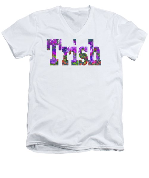 Trish Men's V-Neck T-Shirt