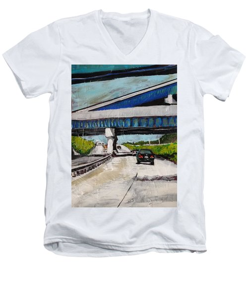 Underpass Z Men's V-Neck T-Shirt