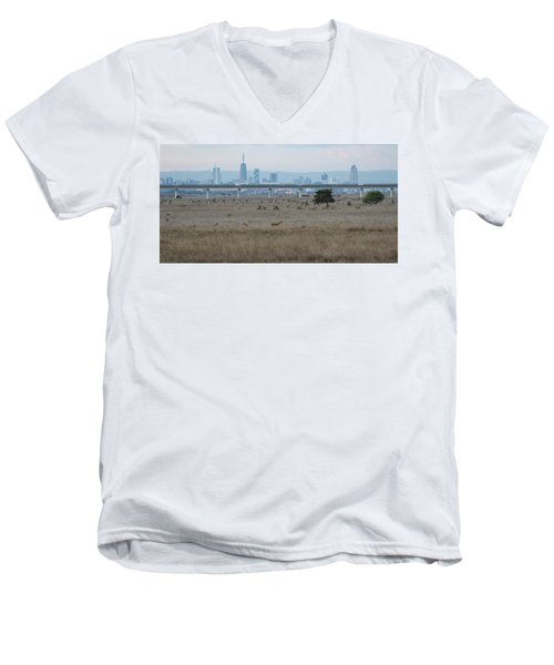 Urban Pride Men's V-Neck T-Shirt