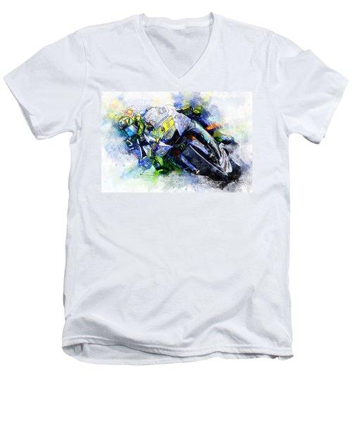 Valentino Rossi - 20 Men's V-Neck T-Shirt