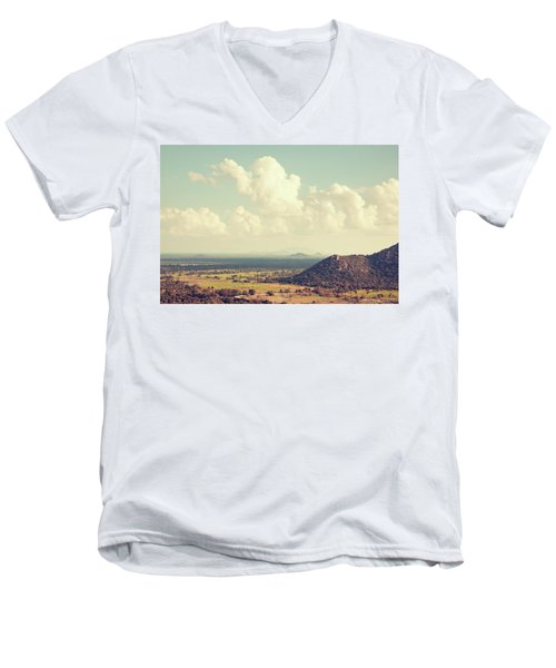 View From Mihintale Men's V-Neck T-Shirt