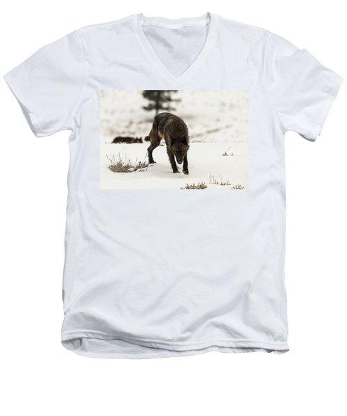 W45 Men's V-Neck T-Shirt