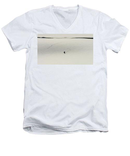 W54 Men's V-Neck T-Shirt