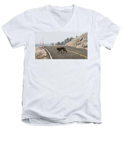 W55 Men's V-Neck T-Shirt