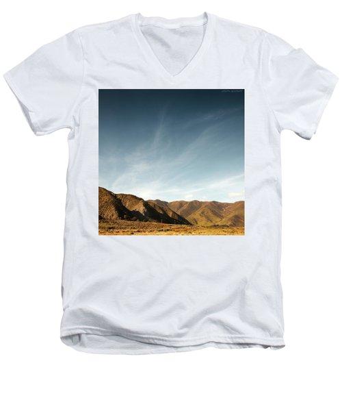 Wainui Hills Squared Men's V-Neck T-Shirt