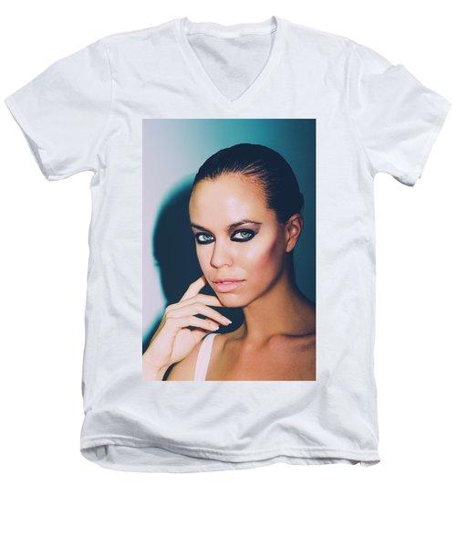 Watching You Watching Me Men's V-Neck T-Shirt